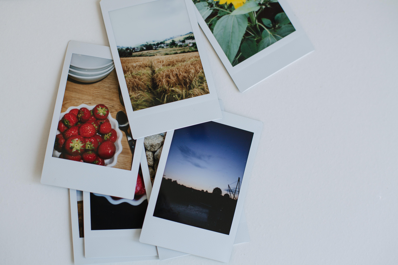 Как сделать фото полароидным